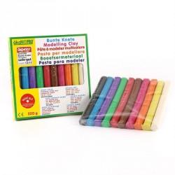 ökoNORM Bunte Knete immer weich 220g 10 Farben