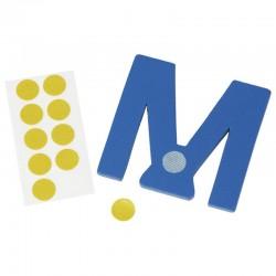 Klebepunkte für Holzbuchstaben