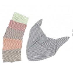 Dreieckstuch aus Wolle/Seide