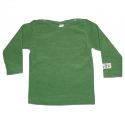 Baby Pulli/Shirt 1/1 Arm aus Woll-Frottee Plüsch kbT