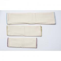 Prefolds aus Bio-Baumwolle in 3 Größen