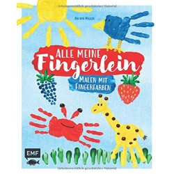 Alle meine Fingerlein - Malen mit Fingerfarben
