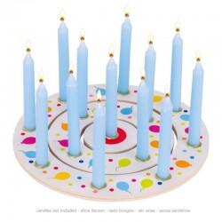 Geburtstagskranz Luftballons mit Zahlen 1-10