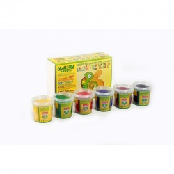 ökoNorm Soft Knete 6 Farben - Set A (rot, gelb, grün,...