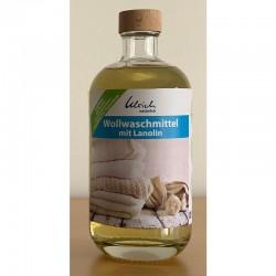 Wollwaschmittel mit Lanolin (500 ml Glasflasche) Ulrich natürlich