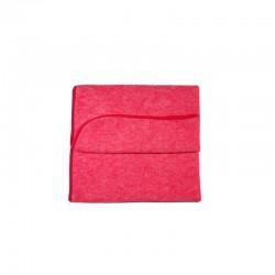 Baby-Decke aus Bio Woll-Baumwoll-Fleece
