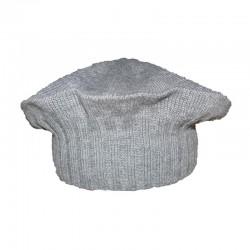Baskenmütze aus Alpaka-Strick