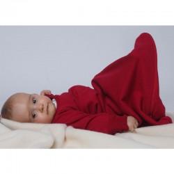Schlafsack mit Arm aus Bio Wolle/Seide Frottee