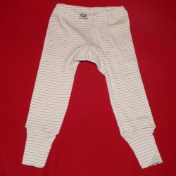 Baby-Feinripp-Hose aus farbig gewachsener Baumwolle kbA