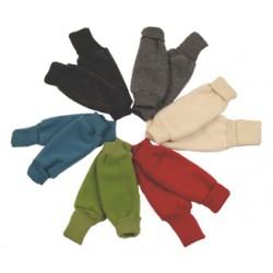 Merino Fleece Stulpen mit umschlagbaren Beinbündchen