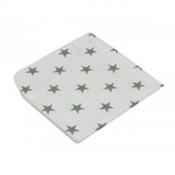 """Moltontücher """"Stars"""" bedruckt, 40 x40 cm, 3er Pack"""