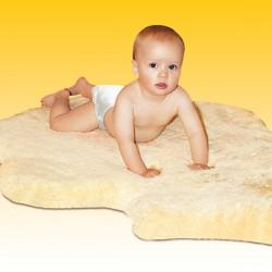 Babylammfell, medizinisch gegerbt