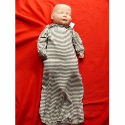 Baby-Nachthemd Kabea® Baby Gown, Material wählbar