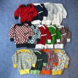Bündchen-Shirt aus (Bio-) Baumwolle (k.b.A.) uni oder gemustert