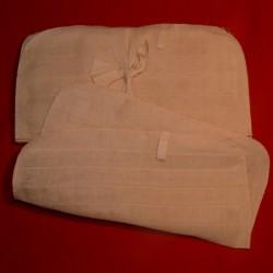 Mullwaschlappen 25 x 25 cm aus Baumwolle kbA