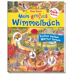 Mein großes Wimmelbuch mit Gucklöchern von Anne Suess