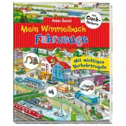 Mein Wimmelbuch Fahrzeuge mit Gucklöchern von Anne Suess