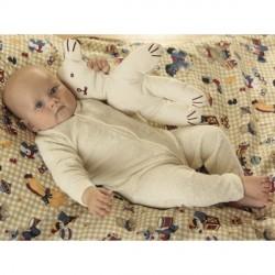 Frottee-Leggingbody aus Bio-Baumwolle
