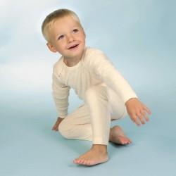 Frottee-Kuschelschlafanzug aus Bio Baumwolle kbA