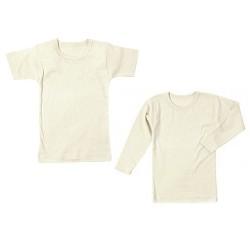 Shirt aus Bio-Baumwolle kbA mit langem oder kurzem Ärmel