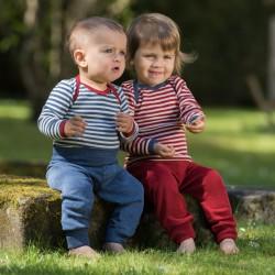 Baby-Hose aus Merino-Feinripp kbT, maschinenwaschbar