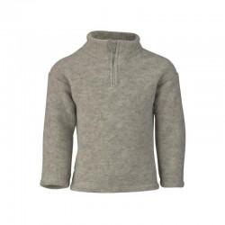 Fleece-Pullover aus Schurwolle kbT