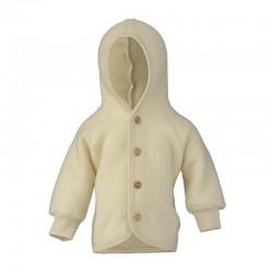 Fleece-Jacke aus Schurwolle...