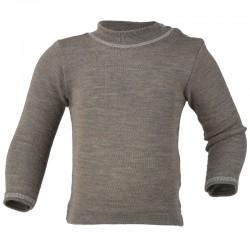 Baby-Shirt uni oder geringelt mit Perlmutterknöpfen,...