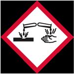 Gefahrensymbol: ätzend