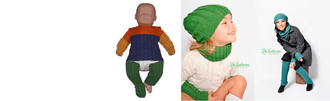 De Colores Kälteschutzartikel für Groß und Klein